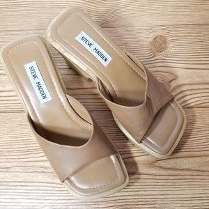 Steve Madden Chunky High Heel Platform Sandals
